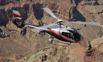 Maverick Helicopter over the Grand Canyon
