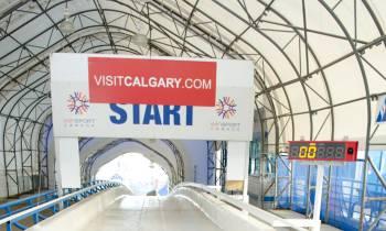Bobsled at Calgary Olympic Park