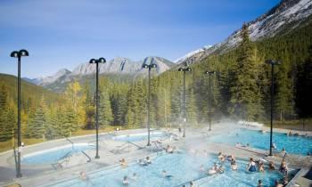 Miette Hot Springs in Jasper National Park