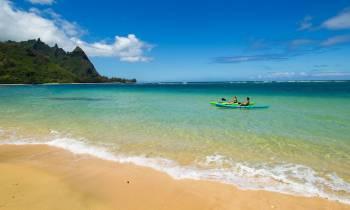 Kayaking at Makuab beach