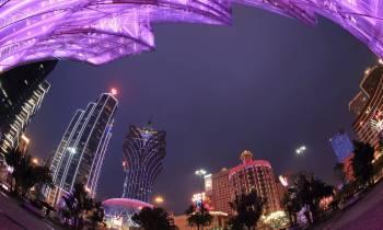Macau by night Medium