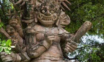 Indonesian Stone Statue