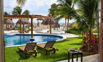 Pool at Excellence Playa Mujeres