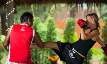 Mauy thai class