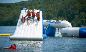 Splash Zone, Deerhurst Resort, Ontario