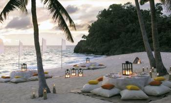 Beachfront Dinner Party