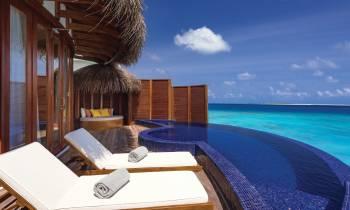 Honeymoon Water Suites with Pool View