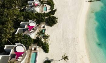 Beach Villa Aerial
