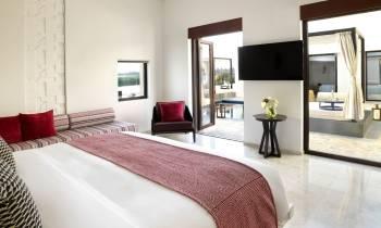 Two Bedroom Garden View Pool Villa Master Bedroom