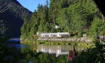 River Tents, Clayoquot Wilderness Resort, Vancouver Island