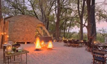 and beyond Sandibe Guest area Botswana
