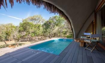 Private pool cabin, Chena Huts