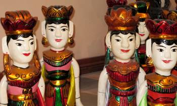 Puppets from a Water Puppet Show