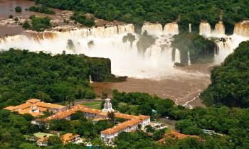 Hotel Das Cataratas and Iguazu Falls