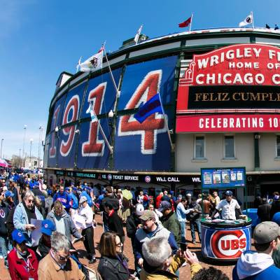 Chicago Cubs, Wrigley Field, Chicago, Illinois