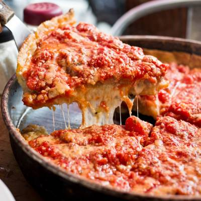 Chicago Deep Pan Pizza, Chicago, Illinois