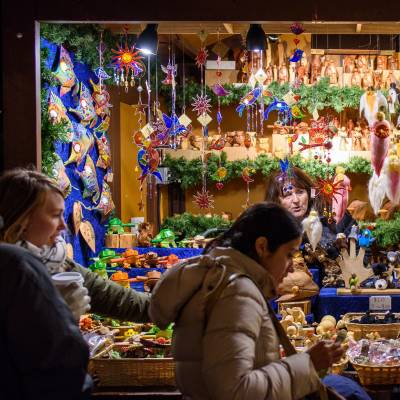 Christkindlmarket Christmas Market, Chicago, Illinois