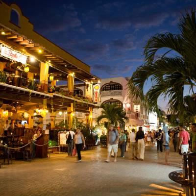 Downtown Playa Del Carmen