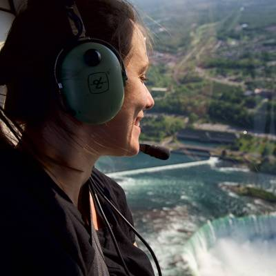 Helicopter Tour over the Falls Niagara Falls Cr Destination Canada