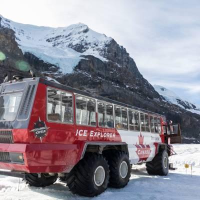 Ice Explorer at Columbia Icefield, Jasper