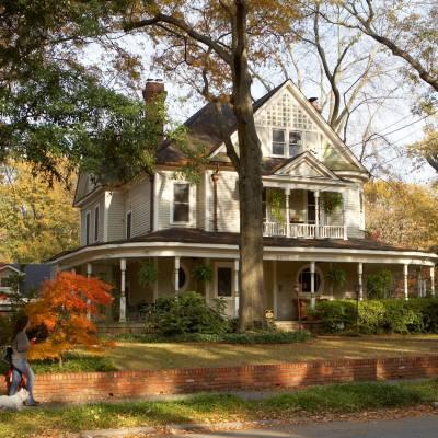 Inman Park Victorian Homes