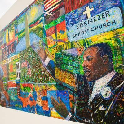 MKL Ebenezer Mural
