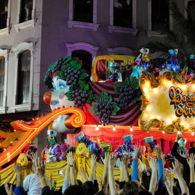 Bacchus parade