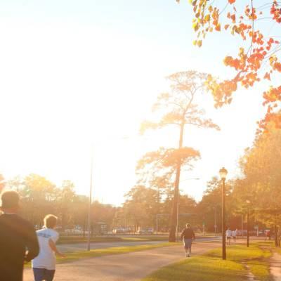 Memorial Park running trail