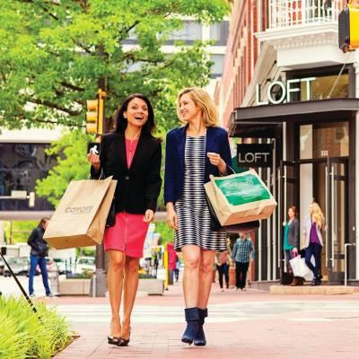 Sundance Square shopping