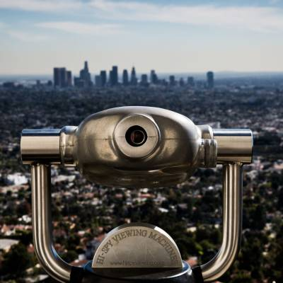 Downtown LA skyline from the Griffith Observatory