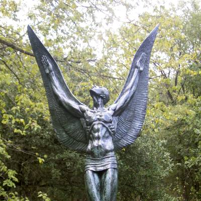 The Spirit of Flight at Umlauf Sculpture Garden