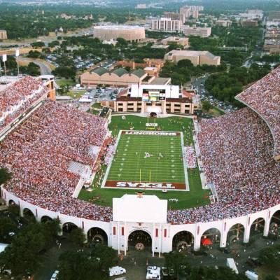 UT Darrell K Royal TX Memorial Stadium