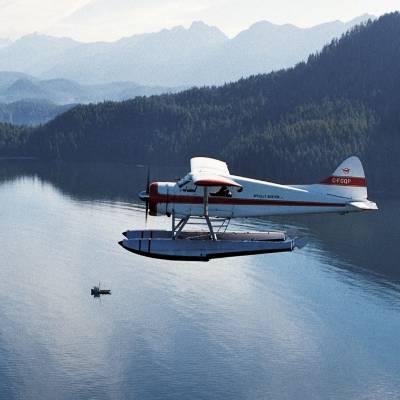 Floatplane near Tofino, Vancouver Island