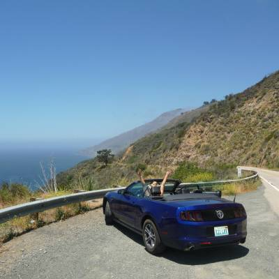Driving the Pacific Coast Highway 1