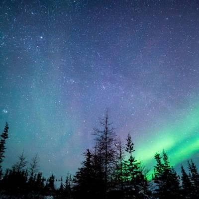Northern Lights, Churchill, Manitoba