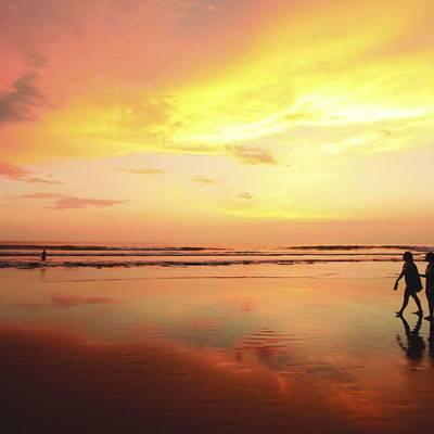 Sunset at Legian Beach