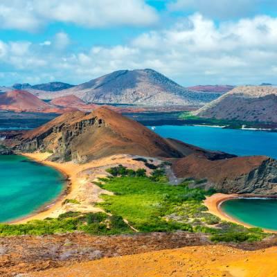 Bartolomé Island in the Galapago