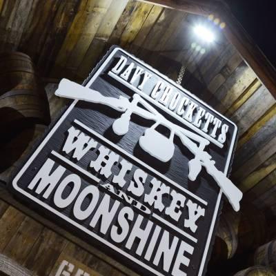 Davy Crocketts Whiskey and Moonshine