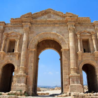 Jerash city gate