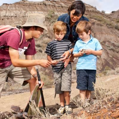 Palaeontology Drumheller