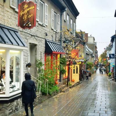 Street Quartier Petit-Champlain