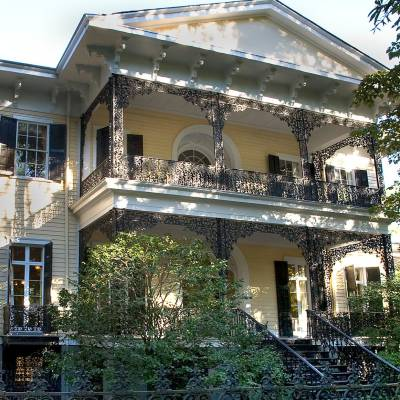 The Lace House at the Govenor's Mansion