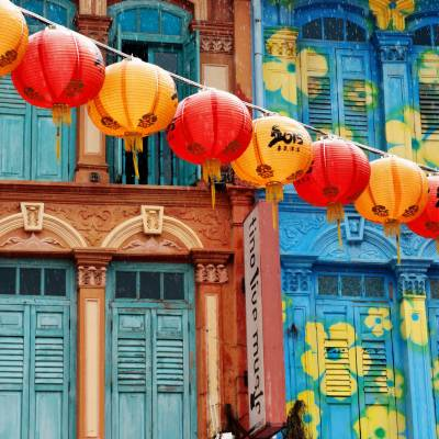 Shophouses in Chinatown