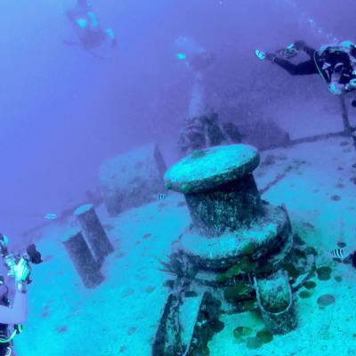 Shipwreck Diving Bermuda Tourism Authority