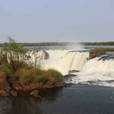 Iguazu Falls Argentina side September trip by