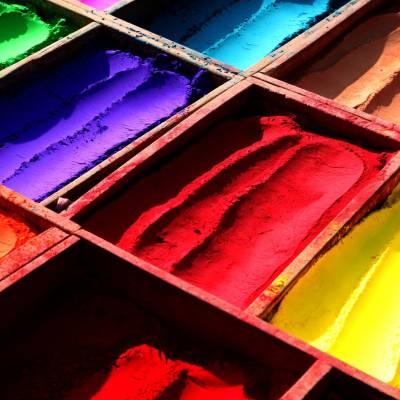 Colour dye powder