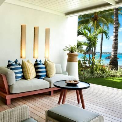 Beach Front Suite Terrace