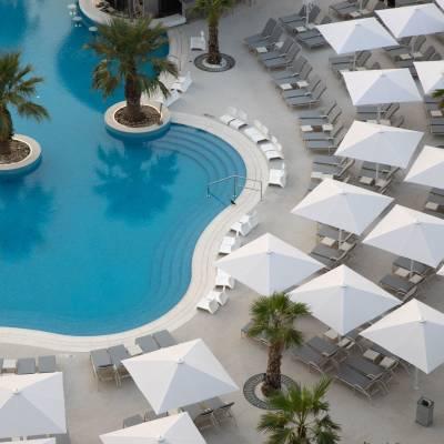 Leisure Pool Aerial