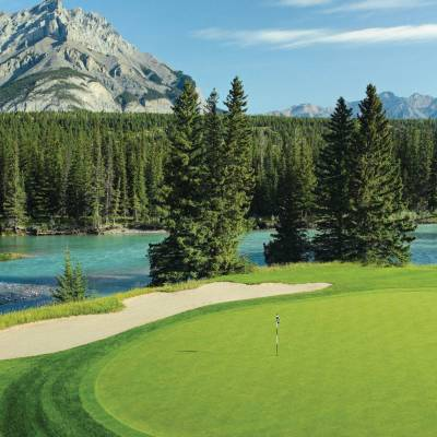 Banff Springs Golf Course Hole