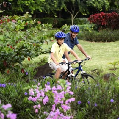 Cycling at Heritage Awali
